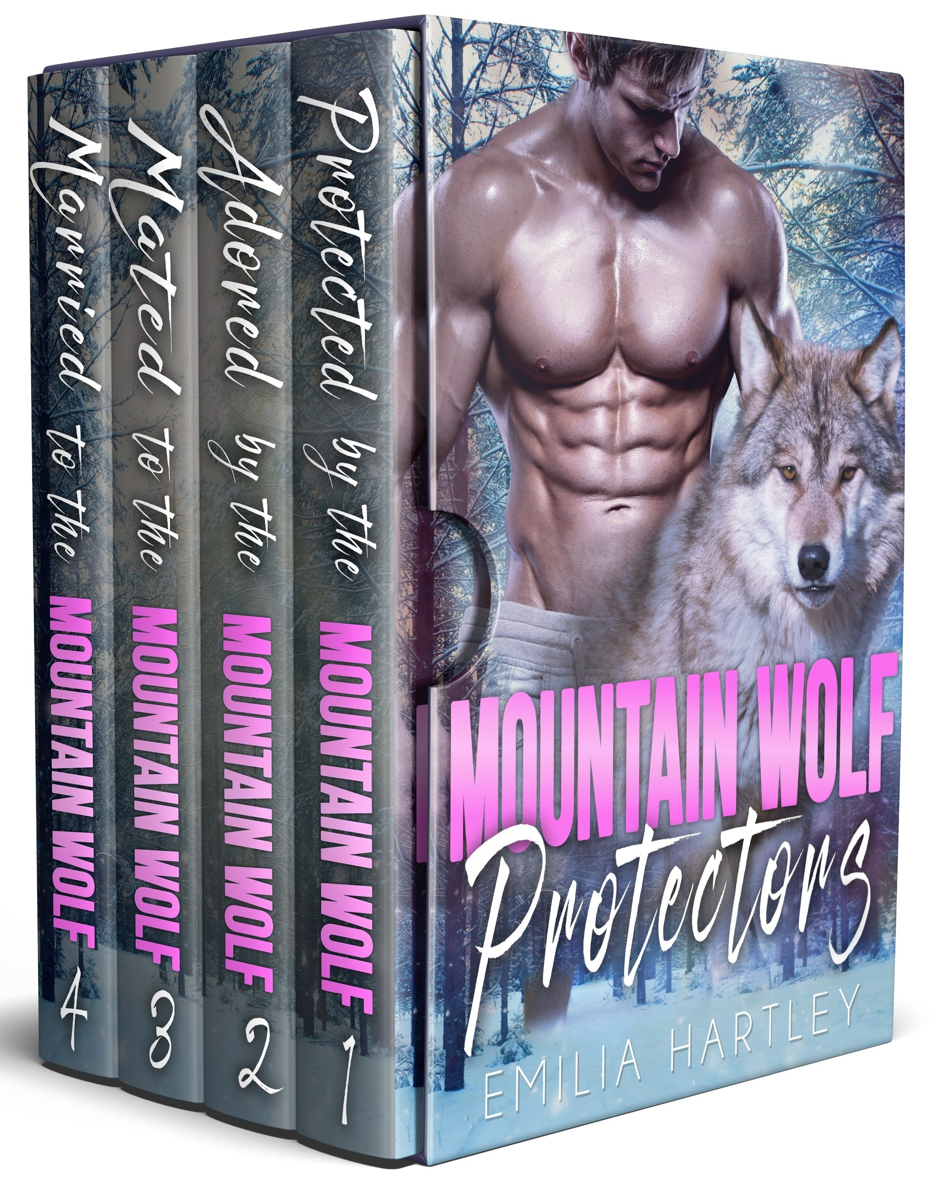 Mountain Wolf Protectors Complete Set: Books 1 - 4