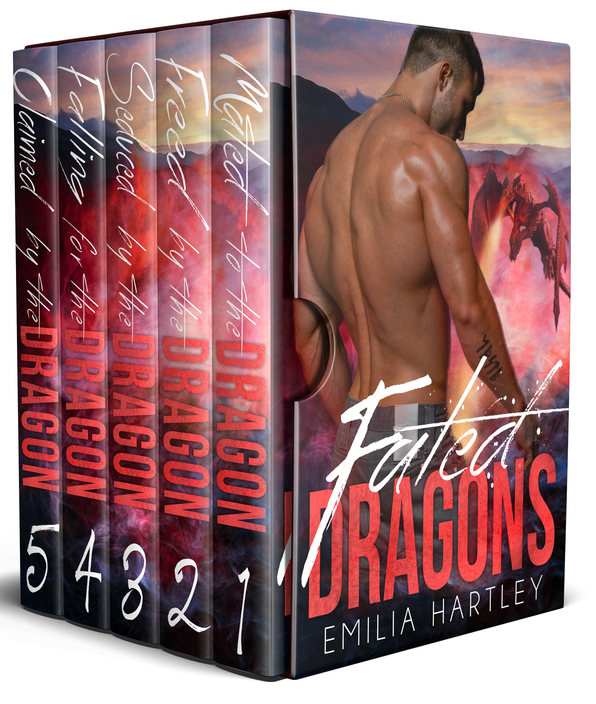 Fated Dragons Complete Boxed Set Books 1 - 5